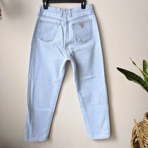 Vintage 80's 90's Guess mom jeans high rise